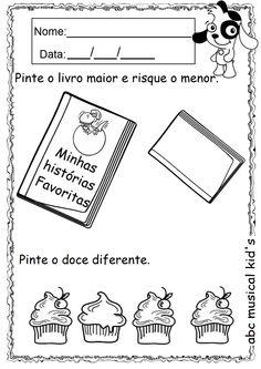 ATIVIDADES DE EDUCAÇÃO INFANTIL  E MUSICALIZAÇÃO INFANTIL: Atividades - Maternal