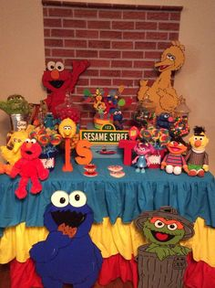 Sesame Street Birthday Party! See more party ideas at CatchMyParty.com!