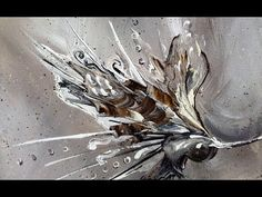 Abstract Painting / DEMO - Shapeless / Collaboration / Ray Grimes / Painting Techniques - YouTube