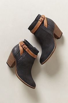 Yuri Nubuck Booties #anthropologie