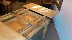 Meccanica tavolo romagnolo allungabile
