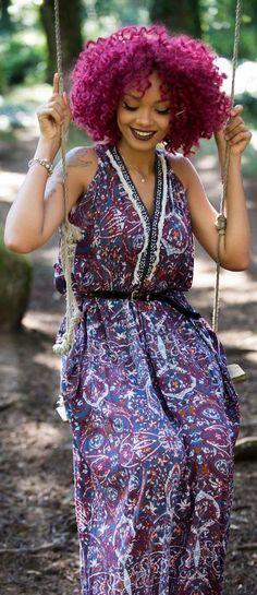 Purple Passion // Fashion & Hair Trend by Olaj Arel
