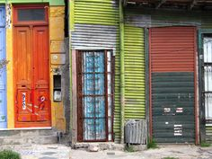 Decay and Coloroful Doors in La Boca, Buenos Aires ~ beauty is found everywhere...if one only looks and sees :-)