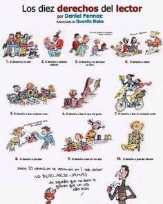 B1 - Derechos del lector, según Daniel Pennac.