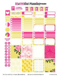 Hey Planner Girls! I created a slightly new layout this week and I hope that you like it. I'm also