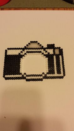 Camera frame perler beads by Blerg1184