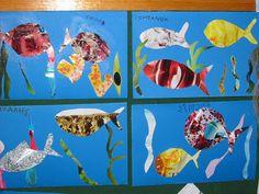 ΝΗΠΙΑΓΩΓΟΣ Mοστάκη Μαίρη: Σχέδιο εργασίας: Η Θάλασσα Fish, Pets, Blog, Painting, Animals, Animales, Animaux, Pisces, Painting Art