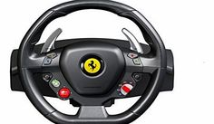 ThrustMaster Ferrari F458 Italia Racing Wheel (Xbox 360) <b> Technical Specifications: </b>Compatible with console (text): XBox und PC <b>·</b> Transfer type: Wired<br /><br /><b (Barcode EAN = 0080000330116) http://www.comparestoreprices.co.uk/ferrari/thrustmaster-ferrari-f458-italia-racing-wheel-xbox-360-.asp