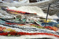 Heather Potten Feltmaker - Blog Alpaca Scarf, Embroidery Techniques, Needle Felting, Blog, Blogging, Felting
