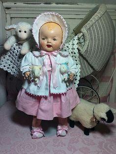 Antique Vintage Hug Me Kiddie Pal Dolly Compostion Baby Doll   Dolls & Bears, Dolls, Antique (Pre-1930)   eBay!