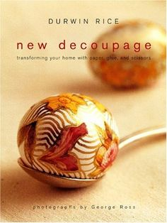 mod podge decoupage instructions