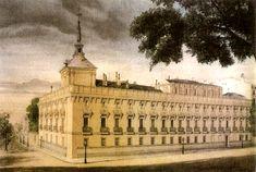 Palacio de Alcañices. Situado en lo que hoy es el Banco de España