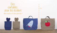 Des cartables et des sacs à dos pour nos petits !!!