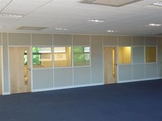 kenamp: Office dividers glass High Office Partitions Portafab Office Partitions Home Office Dividers, Office Divider Walls, Elegant Homes, Glass Room, Office Interiors, Glass Office Partitions, Office Partition, Office Walls, Divider