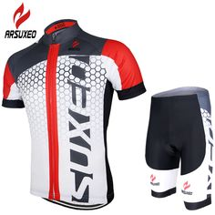 mens fashion casual ARSUXEO Cycling Jersey Set 2017 PRO Team Men MTB Bike Bicycle Motocross Downhill Quick Dry Shirt Suits Clothing Pad Shorts ZSS55 -- AliExpress Affiliate's buyable pin. Find out more on www.aliexpress.com by clicking the image
