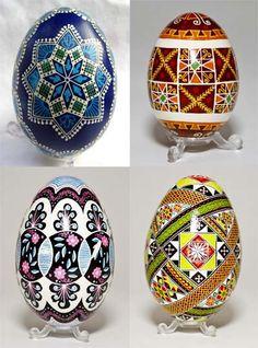Pysanky (Ukrainian Easter Eggs).