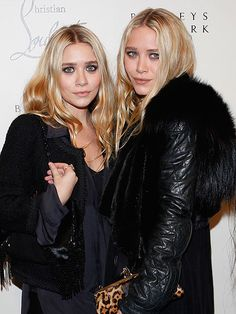 NYFW    ASHLEY AND MARY-KATE OLSEN    The Olsen fashion empire is also beloved by industry insiders. Their Elizabeth and James line is casually, effortlessly cool, while their more upscale sister line, The Row, is comprised of carefully edited, minimalist
