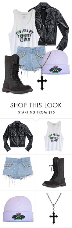 """""""What I wear VS. Who I am"""" by darksquirrel ❤ liked on Polyvore featuring Bebe, Forte Couture and Rick Owens"""