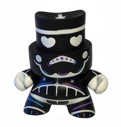 Stealth Trooper for FatCap Series 3 by Kidrobot.
