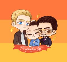 "riceiscolourblind: ""Superfamily is the best!! TvT """