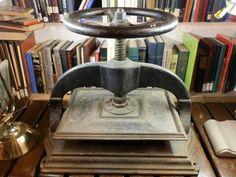 Antique Cast Iron Book Press Late 1800s by DanPickedMinerals, $189.75