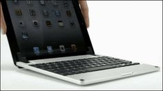 """iPadをスタイリッシュにMacBookっぽく早変わりさせるキーボード「Brydge」  Keyboard """"Brydge"""" which transforms into a stylish MacBook Ppoku iPad"""