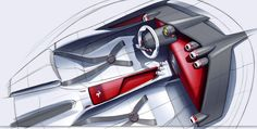 Ferrari Homage Concept,Exterior and Interıor Design ProjectThis design study is aimed to bring back the legenderay ferrari lines back to life and bring back the design language to it's roots.Based on Laferrari , this is a sp car true to the heritage o…