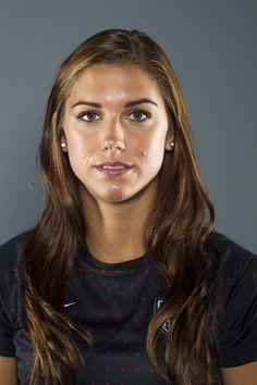 Soccer player Alex Morgan poses for a portrait during the 2012 U.S. Olympic Team Media Summit in Dallas, Texas May 15, 2012.