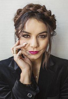 Vanessa hudgens makeup and hair