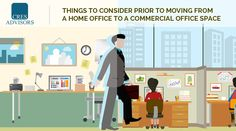 Working at home office can be a dream come true. But as your #business grows, you may need to upgrade. Here are few things to consider for moving into an #commercialofficespace.  http://www.cresadvisor.com/blogs/9-things-to-consider-prior-when-moving-into-a-commercial-space-from-your-home-office/
