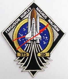 STS 135 Mission Patch NASA Program The Last Space Shuttle Mission Atlantis