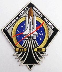 STS 135 Mission Patch NASA Program The Last Space Shuttle Mission Atlantis