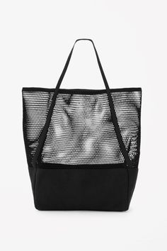 COS | Canvas and mesh bag