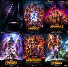 All Infinity War Posters Released So Far