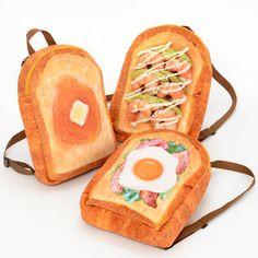 Marude Pan Like a Bread Backpacks Vol. Kawaii Bags, Kawaii Clothes, Cute Fashion, Fashion Outfits, Mode Shop, Cute Backpacks, Cute Bags, Aesthetic Clothes, Purses And Bags