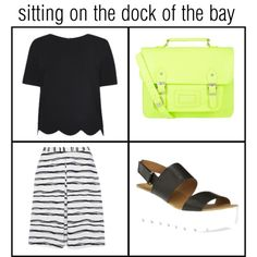 Sitting on the dock of the bay by bea-bozza on Polyvore featuring moda, casual, chic, primark and sailory