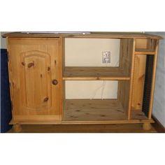 TV-bord, Træ  65,5 CM højt, 45 CM dybt og 98,5 cm bredt