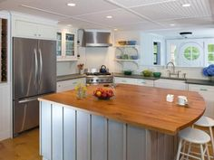 Browse pictures of gorgeous kitchens for layout ideas and design inspiration.