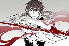 Tags: Anime, Fanart, D.Gray-man, Yuu Kanda, Pixiv