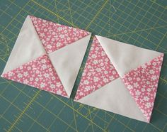 hourglass quilt block tutorial from cluck cluck sew