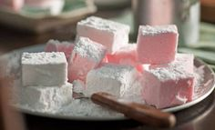 Marshmallows: If you can stand the wait, these beauties are best eaten about three hours after coating, as the icing sugar will form a lovely crust.