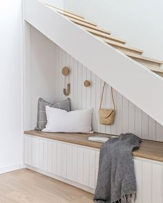14 Genius Home Office Organization Ideas to Create the Perfect Workspace - The Trending House Style At Home, Under Stairs Nook, Under Stair Storage, Staircase Storage, Staircase Ideas, Home Office Organization, Home Fashion, Decor Interior Design, Decoration