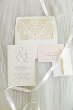 Wedding Invitation | On SMP: http://www.stylemepretty.com/florida-weddings/2013/11/21/tampa-bay-wedding-from-debra-eby-photography | Designer: The Write Stuff  | Photography: Debra Eby Photography