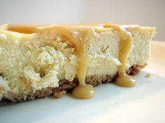Dulce de Leche Cheesecake | www.tasteandtellblog.com