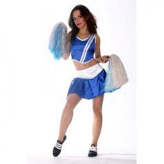 Basketball Cheerleader Kostüm Promotion Sport PomPom