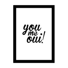 Printable - You me oui | amomuito.com | R$ 5