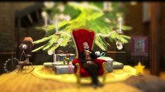 Die Weihnachtsgeschichte erzählt von Rubeus Helgerud The Christmas story tells of Rubeus Helgerud Ausschnitt aus der Weihnachtsfeier 2015 SL Stut...