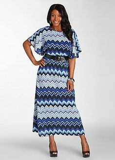 Almost bought today...ZIG ZAG MAXI DRESS WITH REMOVABLE BELT