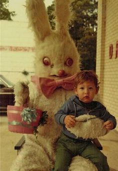 A Visit With the Most Horrifying and Scary Easter Bunnies of All Time | Stuff You Should Know