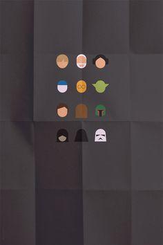 315 portraits minimalistes de héros populaires